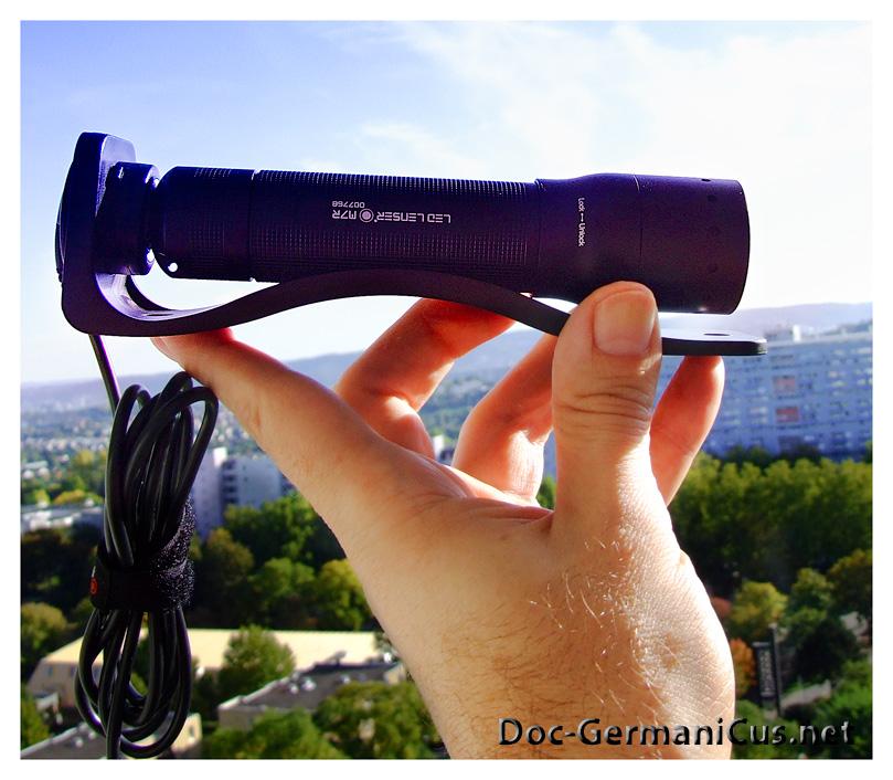 """[ LED LENSER M7R ]:Die Taschenlampe fuer Profis und """"Normalos"""" mit """"magnetischer Aufladung""""!"""
