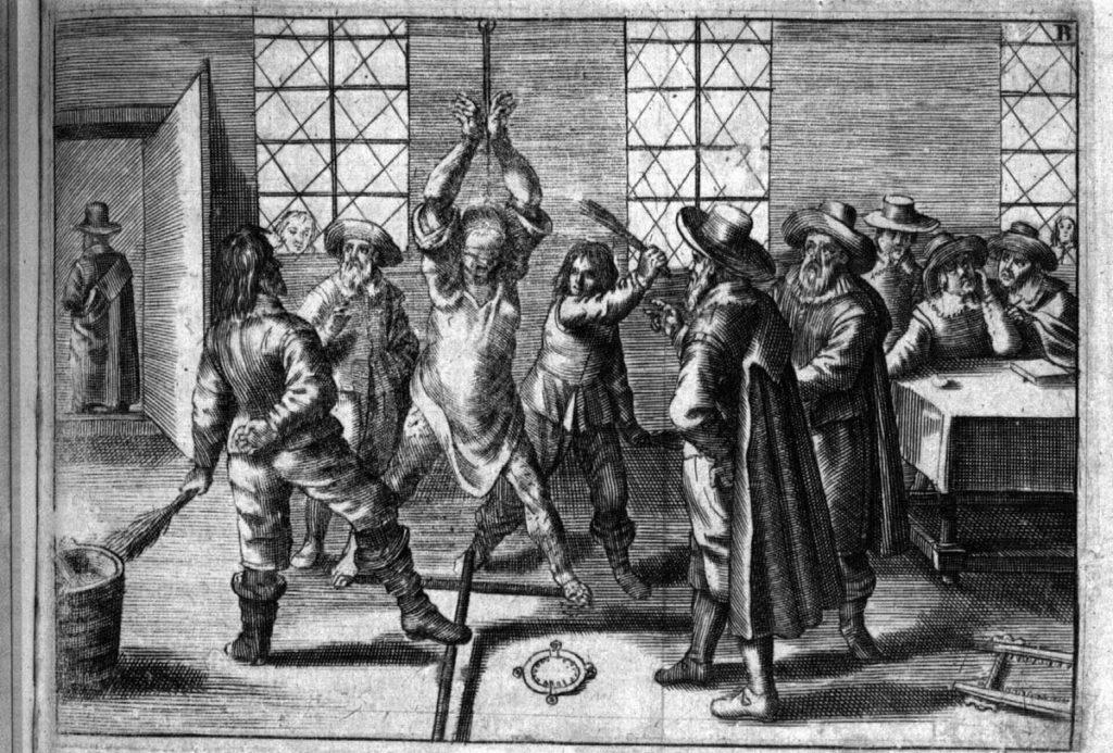 Mittelalter, Auspeitschung, Inquisition