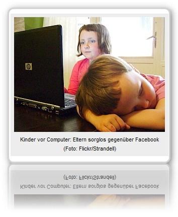 [ KinderGarten.!? ]: Kinder auf Facebook: Eltern meist Komplizen!