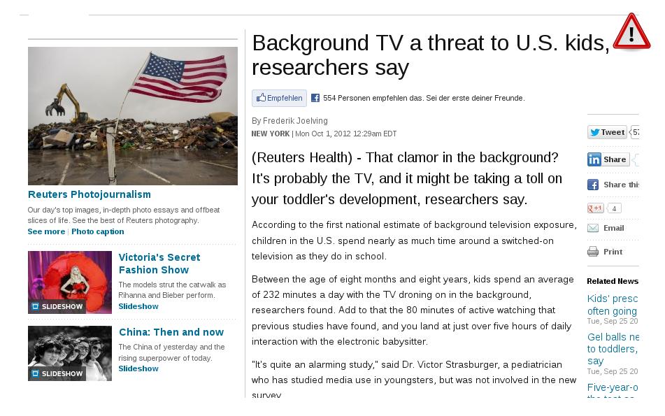 Die Idiotenkiste: Wie Fernsehen uns alle in Zombies verwandelt