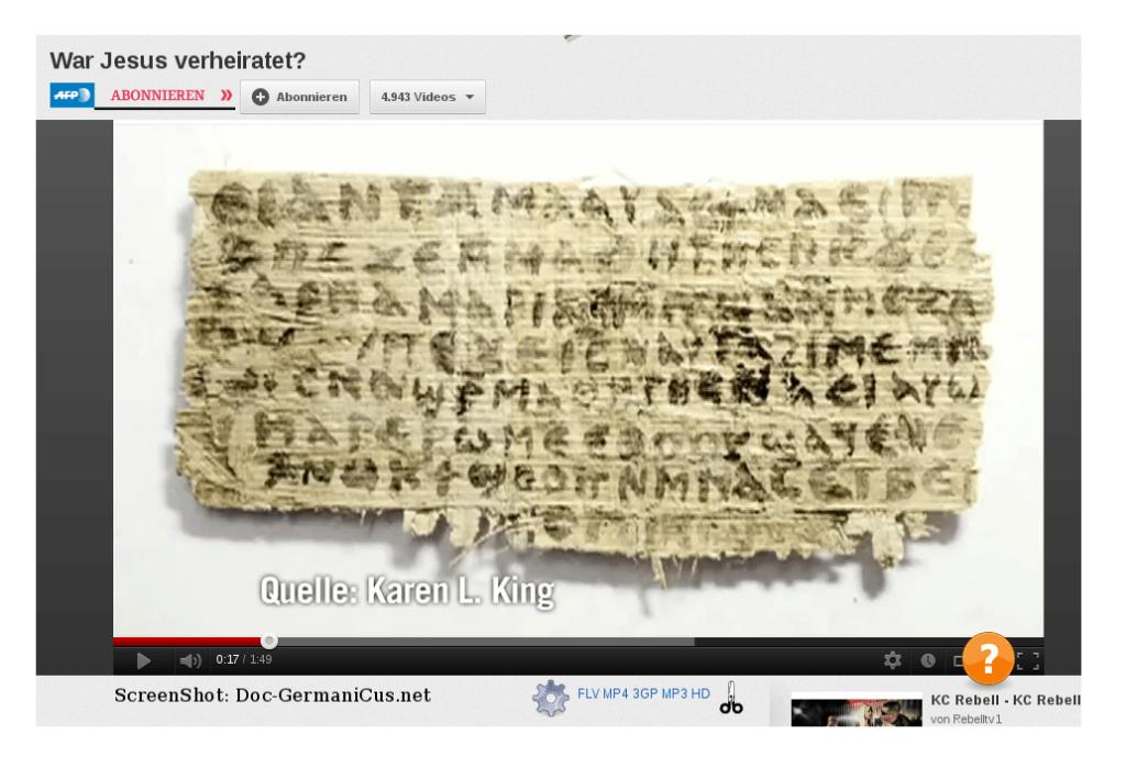 Hatte Jesus eine Ehefrau? Papyrus-Fund heizt Debatte um Privatleben von Erlöser neu an