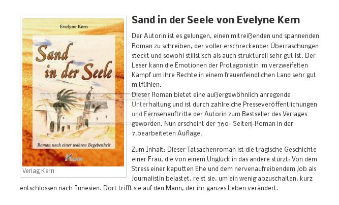 [ BEZNESS! ] Sand in der Seele von Evelyne Kern!