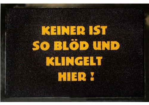 [ VERRÜCKT! } Mit Füssen getretener Humor: Fussmatten!