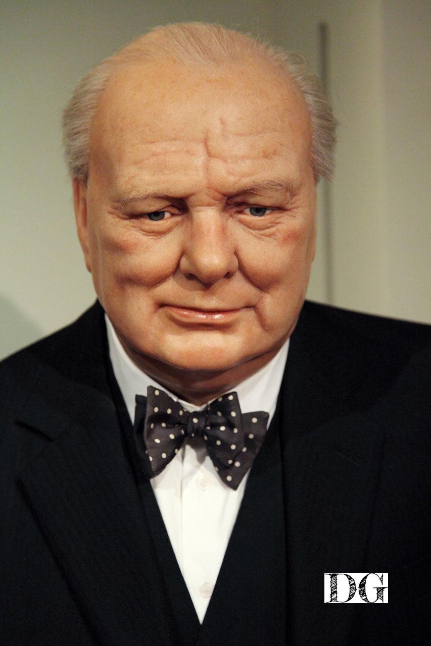 Winston Churchill Winston Churchill wax figure in museum; Photo: Petr Kratochvil