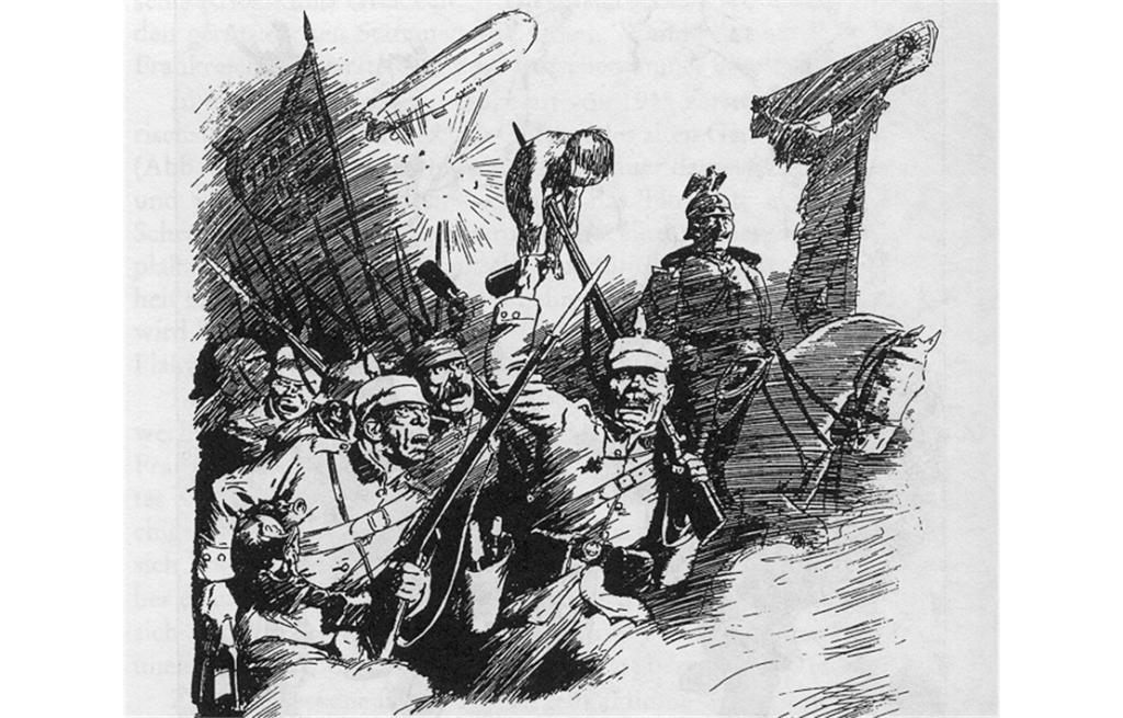 100 Jahre Propaganda-Krieg: Der ewige Hunne!