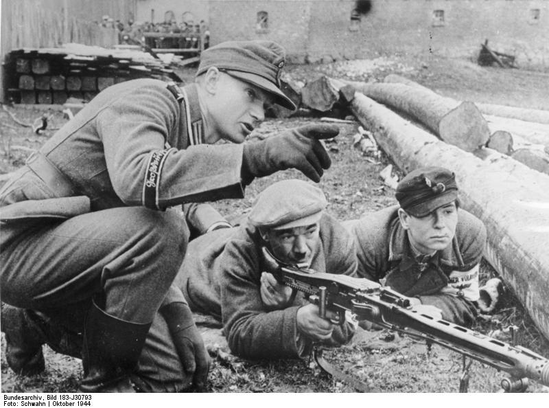 """[ """"WarGames"""" & Kriegsspiele } Kindergarten & Bundes-Volkssturm an die Front!"""