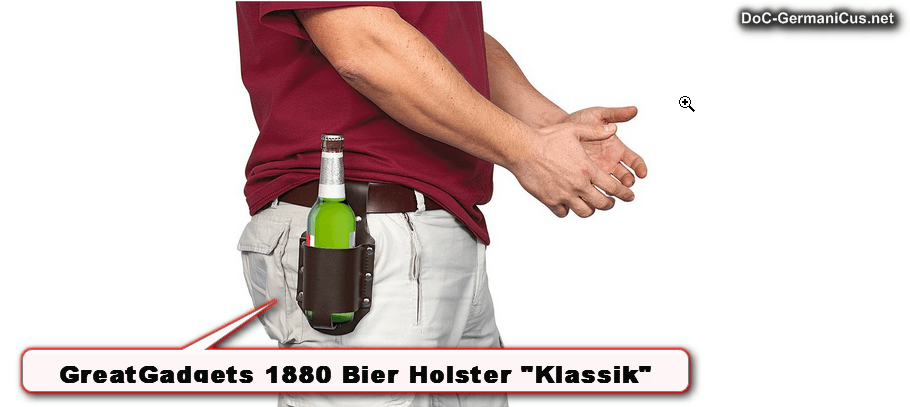 """[ Zieh Schurke..! } """"BIER HOLSTER KLASSIK"""""""