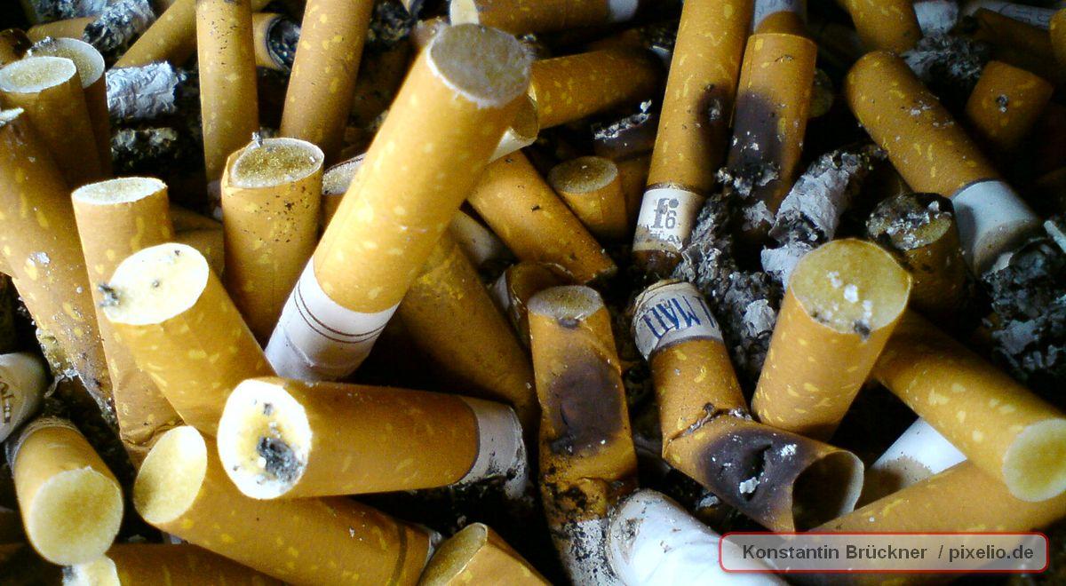 { ENERGIE! } Zigarettenkippen werden zu Stromspeichern!
