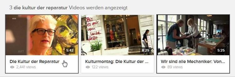 [ RE:VOLTE! } Die Kultur der Reparatur!