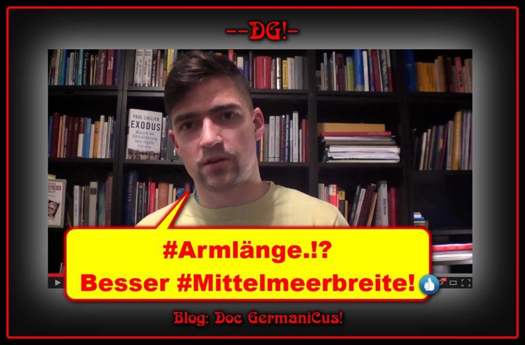 VlogIdentitaer: Eine #armlänge ist uns nicht genug! (#einearmlaenge )