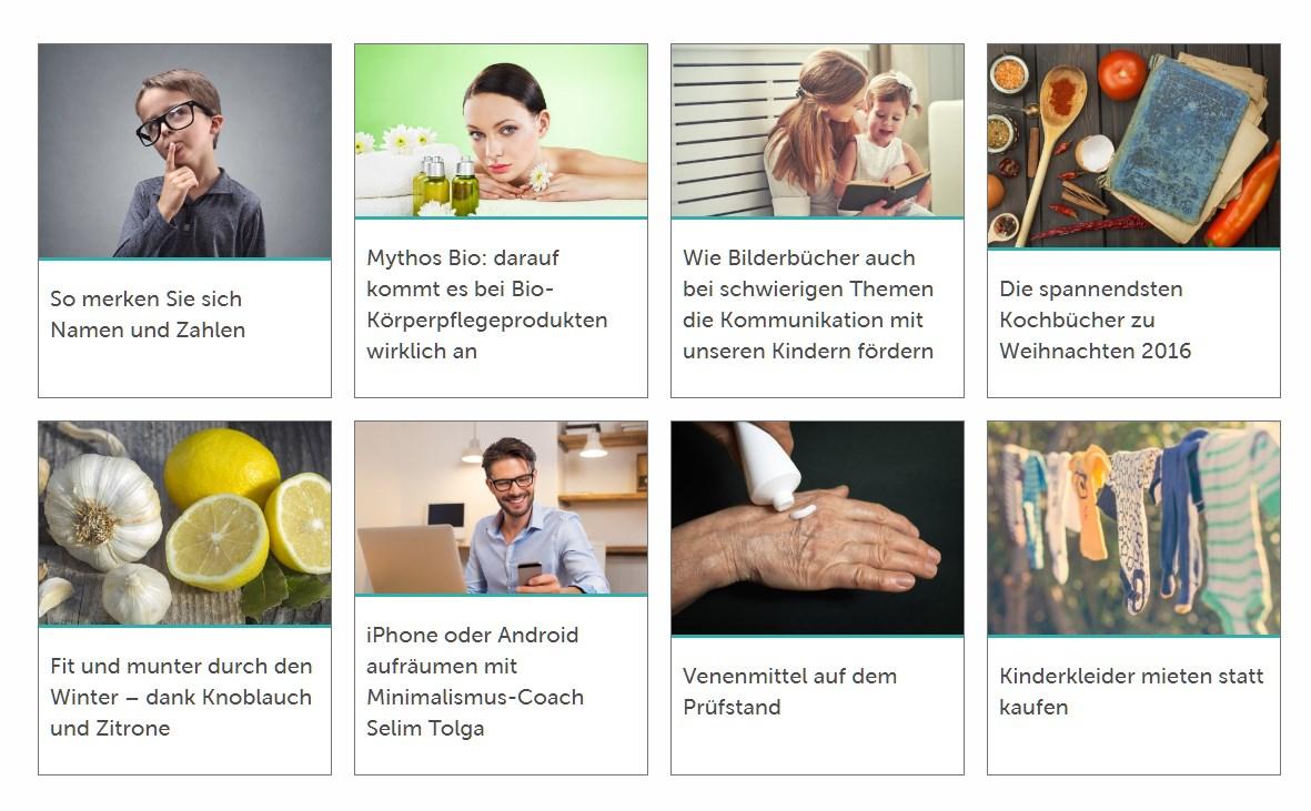 [ Gesundheit! }  Konzentrierte Informationen über das gesunde Leben!