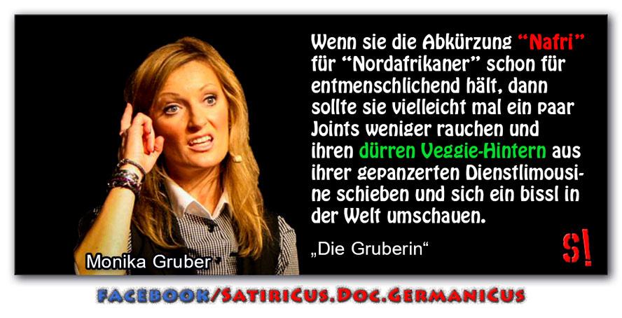 [ Die Gruberin! } Über Nafris,  Veggies und andere Grüne!