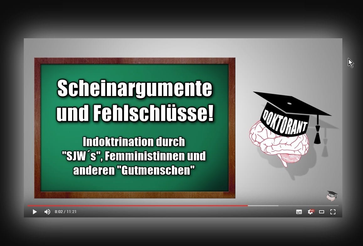 [ Gutmenschen! } Indoktrination & Verdummung mit Scheinargumenten und Fehlschlüssen!