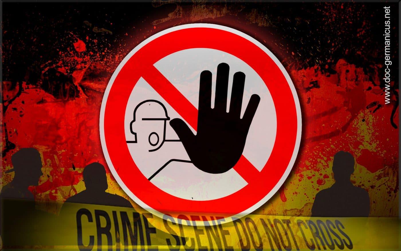 [ No-Go-Areas! } Wie der Staat vor der Ausländerkriminalität kapituliert!
