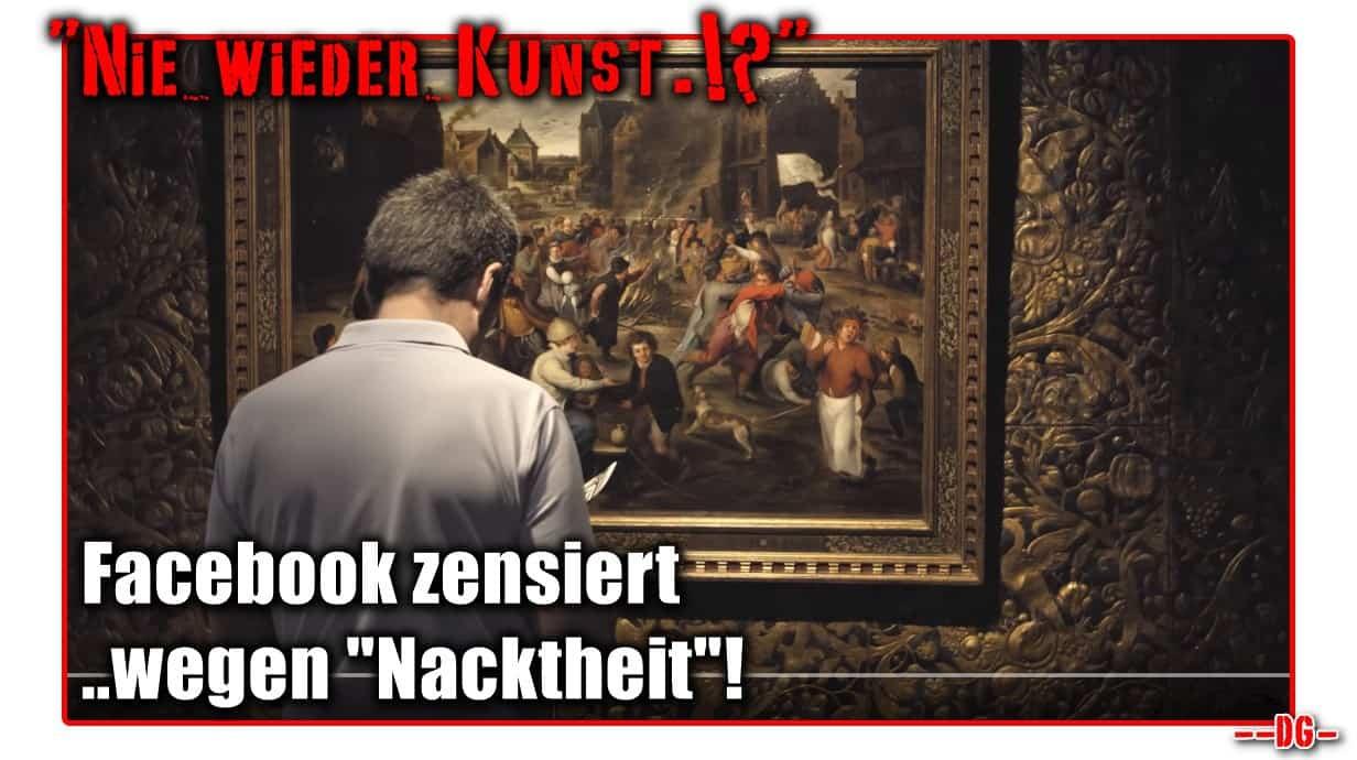 """[ KUNST! } Facebook zensiert alte Meister wegen """"Nacktheit""""..!"""