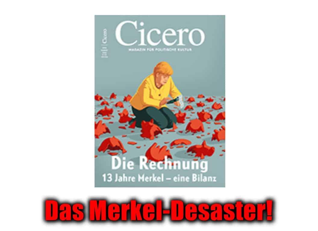 [ MERKEL! } Die Vernichtung von Wohlstand, Sicherheit & Fortschritt!