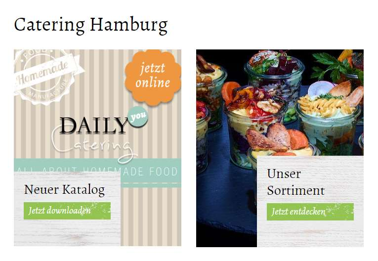 [ Guten Appetit! } DAILY Catering Service in Hamburg!