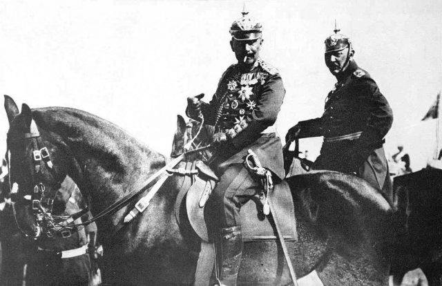 1914: Kaiser & Moltke