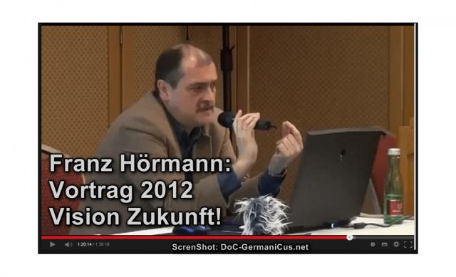 Franz Hörmann / Vortrag - Wandel der Werte, der Sprache, der Wirklichkeit ...2012