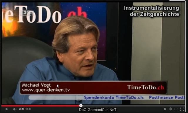 Michael Vogt: Instrumentalisierung der Zeitgeschichte