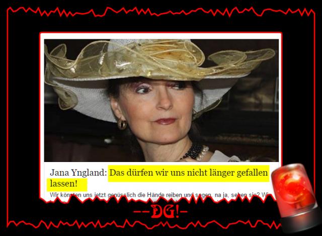Jana Yngland: Das dürfen wir uns nicht länger gefallen lassen!
