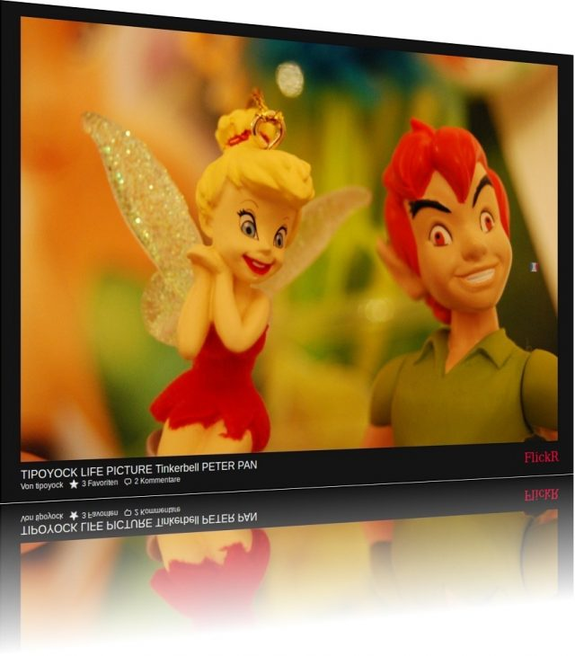Von tipoyock Malcolm Jackson (FlickR): TIPOYOCK LIFE PICTURE Tinkerbell PETER PAN