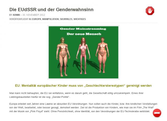 Genderwahnsinn